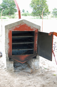 Bread oven developed by Komeho Namibia Development Agency